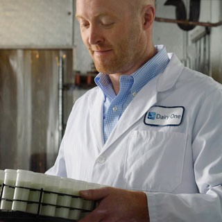 John Tauzel '03 (CALS), MBA '12, director of business development at Dairy One