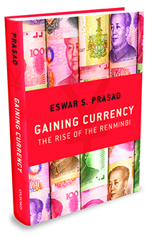 Prasad's book: Gaining Currency The rise of the renminbi