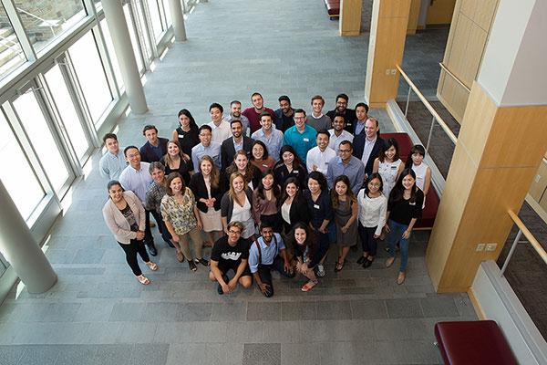 Photo of MMH students during the Leadership Development Program