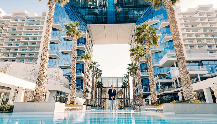 Jay Anand at the FIVE Palm Jumeirah in Dubai