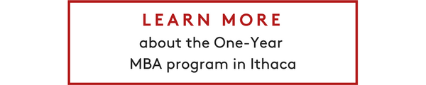 Learn more about the One-Year MBA program