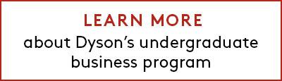 Learn more about Dyson's undergraduate business program