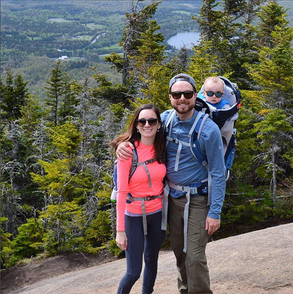 My family at the summit of Cascade Mountain, our first Adirondack peak