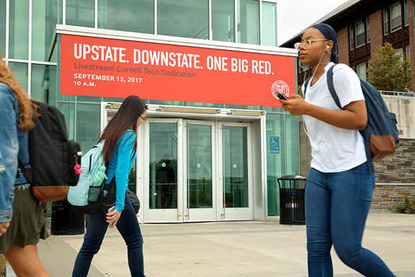 Upstate. Downstate. One Big Red.