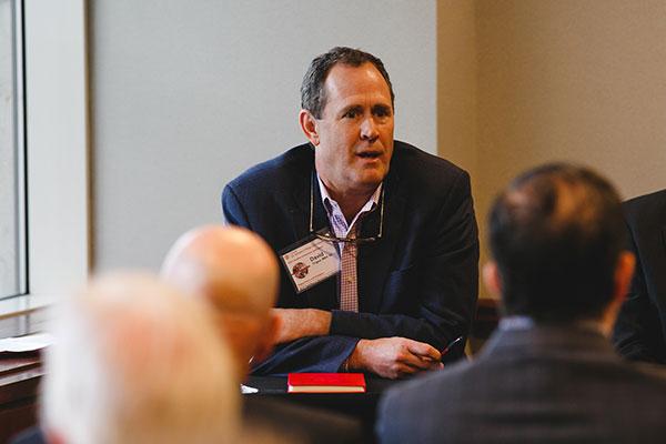 David Tingue, MBA '92, CEO of Tingue, Brown & Co.