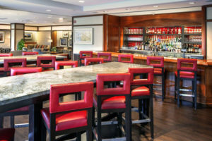 Photo of the newly remodeled Regent Lounge