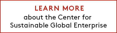Link to learn more about Center for Sustainable Global Enterprise