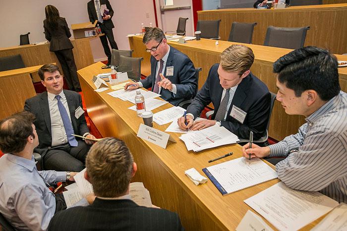 Judges Deliberation Case Competition