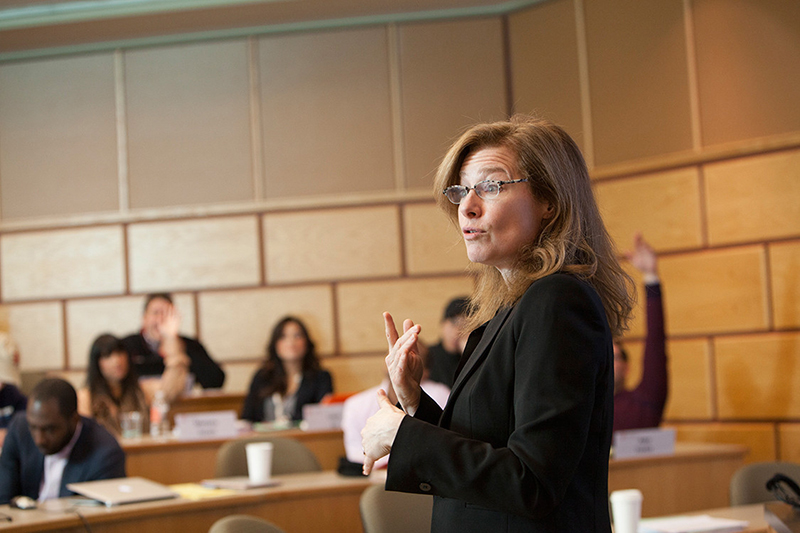 Photo of Kathleen OConnor teaching class