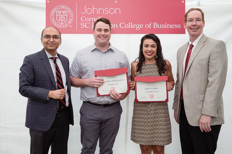 Photo of graduates holding certificates