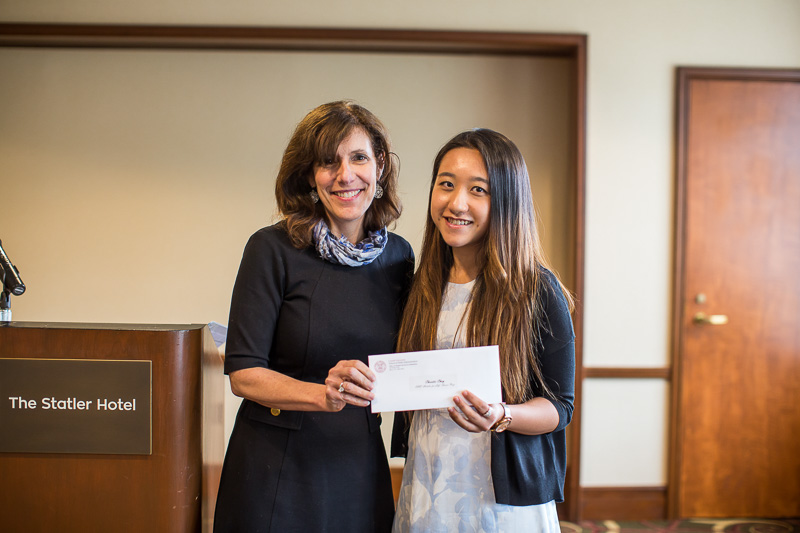Photo of Dean Walsh and Christie Choy