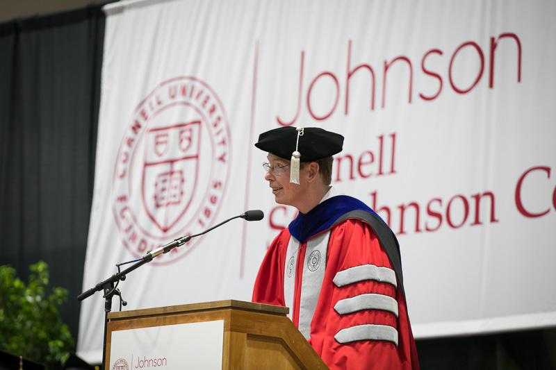 Photo of Mark at a podium