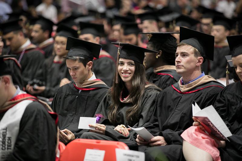 Photo of seated graduates