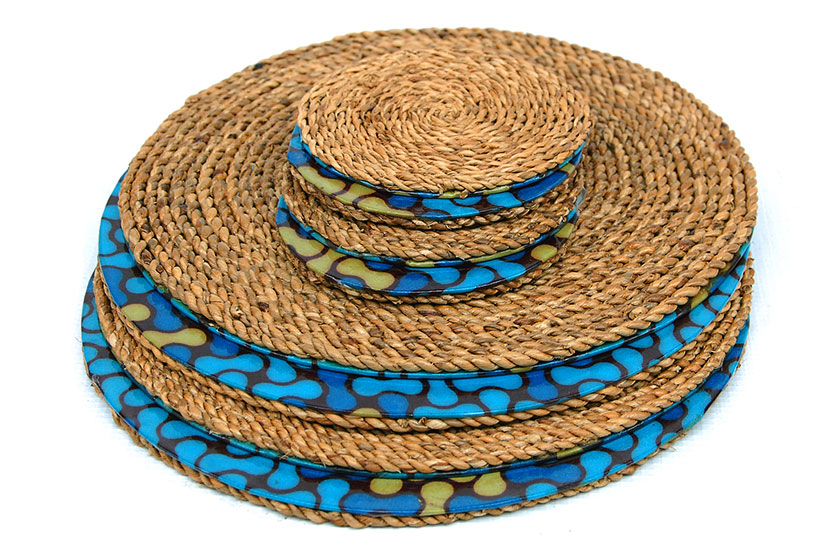 Woven Trivet and Coaster Set