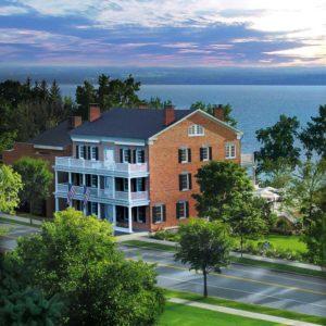 The original Aurora Inn