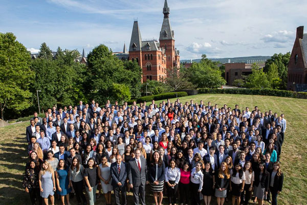 Photo of Cornell MBA 2-Year Class