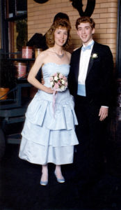Tina and Kevin Hallock, 1987