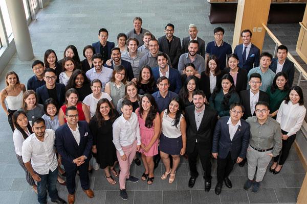 2018 Master of Management in Hospitality (MMH) cohort at the Leadership Development Program