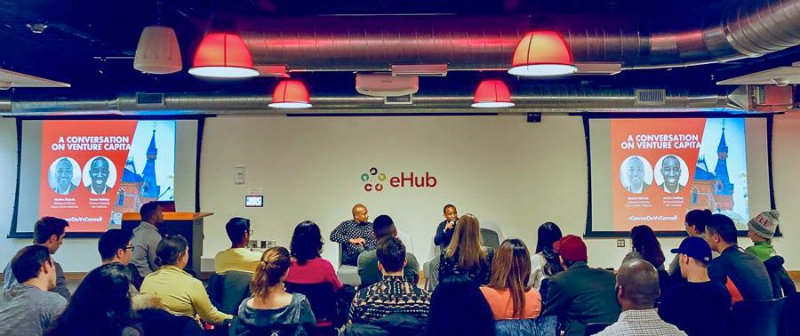 Panel at eHub