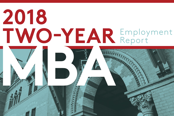 2018 Two-Year MBA Employment Report: Rising salaries