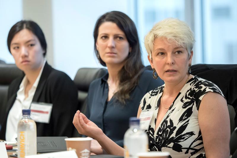 Three female panelists