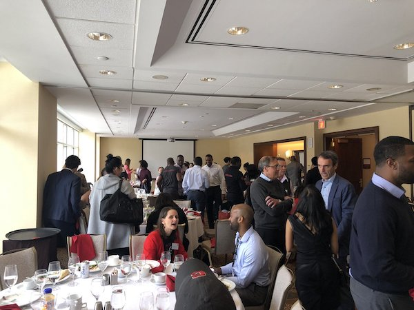 Attendees at the lunch hosted by The Consortium
