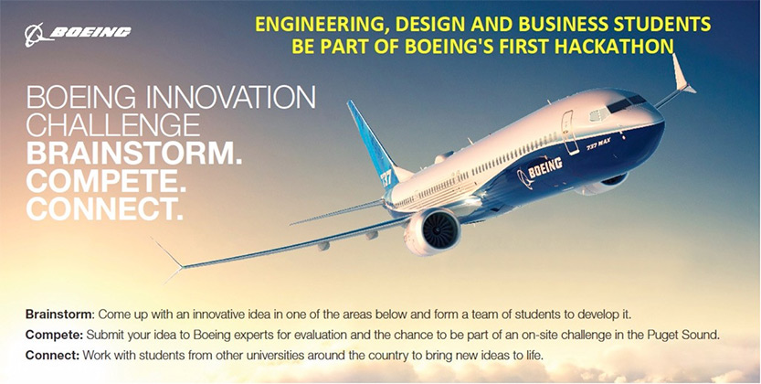 Boeing Innovation Challenge flyer