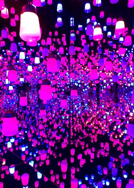 Exhibit showcasing innovative creations in digital art
