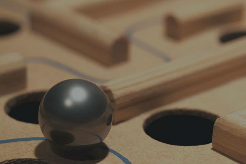 Strategic game board