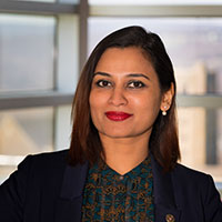 Nikita Sarkar Director of External Relations (NYC), Cornell SC Johnson College of Business