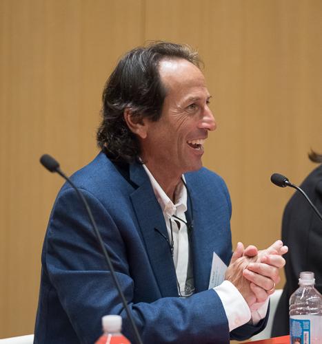 Dave Sherwyn speaking