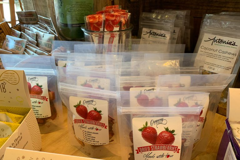Cappeny strawberry products