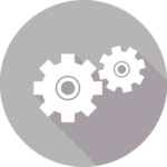 Gear Icon: Academic Collaboration