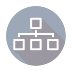 Organization Chart Icon: Academic Consulting
