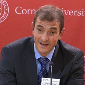 Miguel Gómez, Robert G. Tobin Professor of Food Marketing