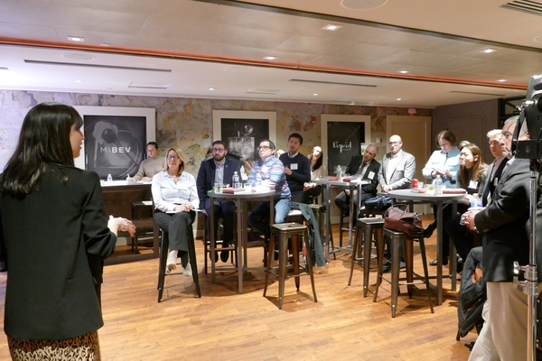 SHA faculty visit Marriott's drink lab