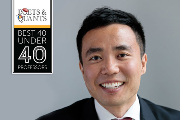 Fintech at Cornell Image: 40 under 40 man smiling