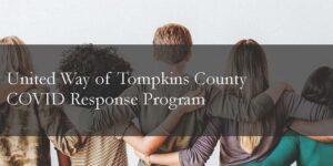 United Way of Tompkins County COVID Response Program logo