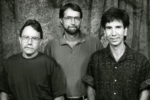 (left to right) Dennis Regan, Robert H. Frank, and Tom Gilovich