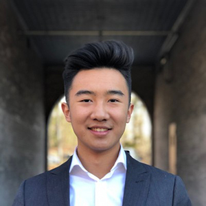 headshot of Xavier Lu '22