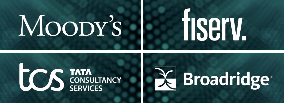 fintech sponsors moody's, fiserv, tcs, broadridge