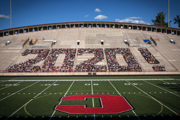class of 2020 shaping a 2020 in stadium seats