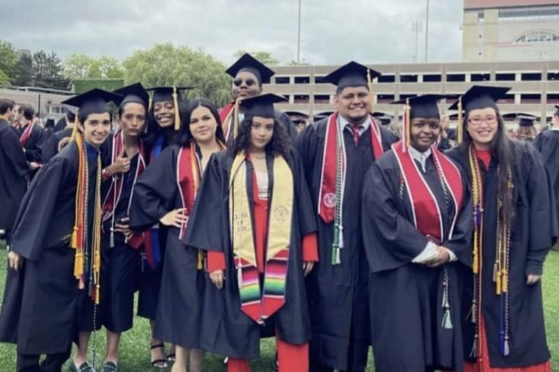 Group of Dyson graduates