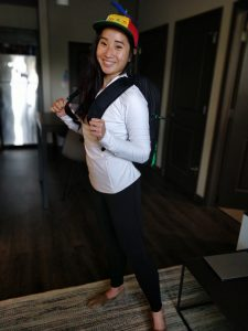 Taylor Nguyen, Two-Year MBA, prepares for her internship