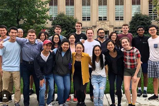 Dyson undergraduate students