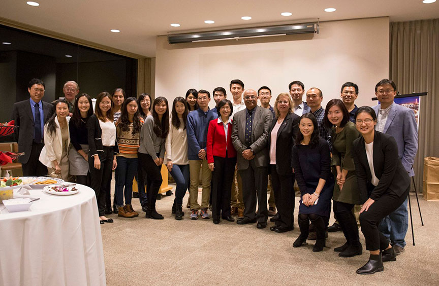 Cornell Institute for China Economic Research group photo